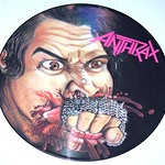 Anthrax Fistful of Metal picture disc