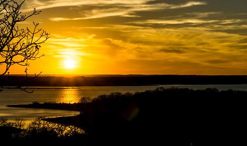 sunset eaglemountainlake texassunsets