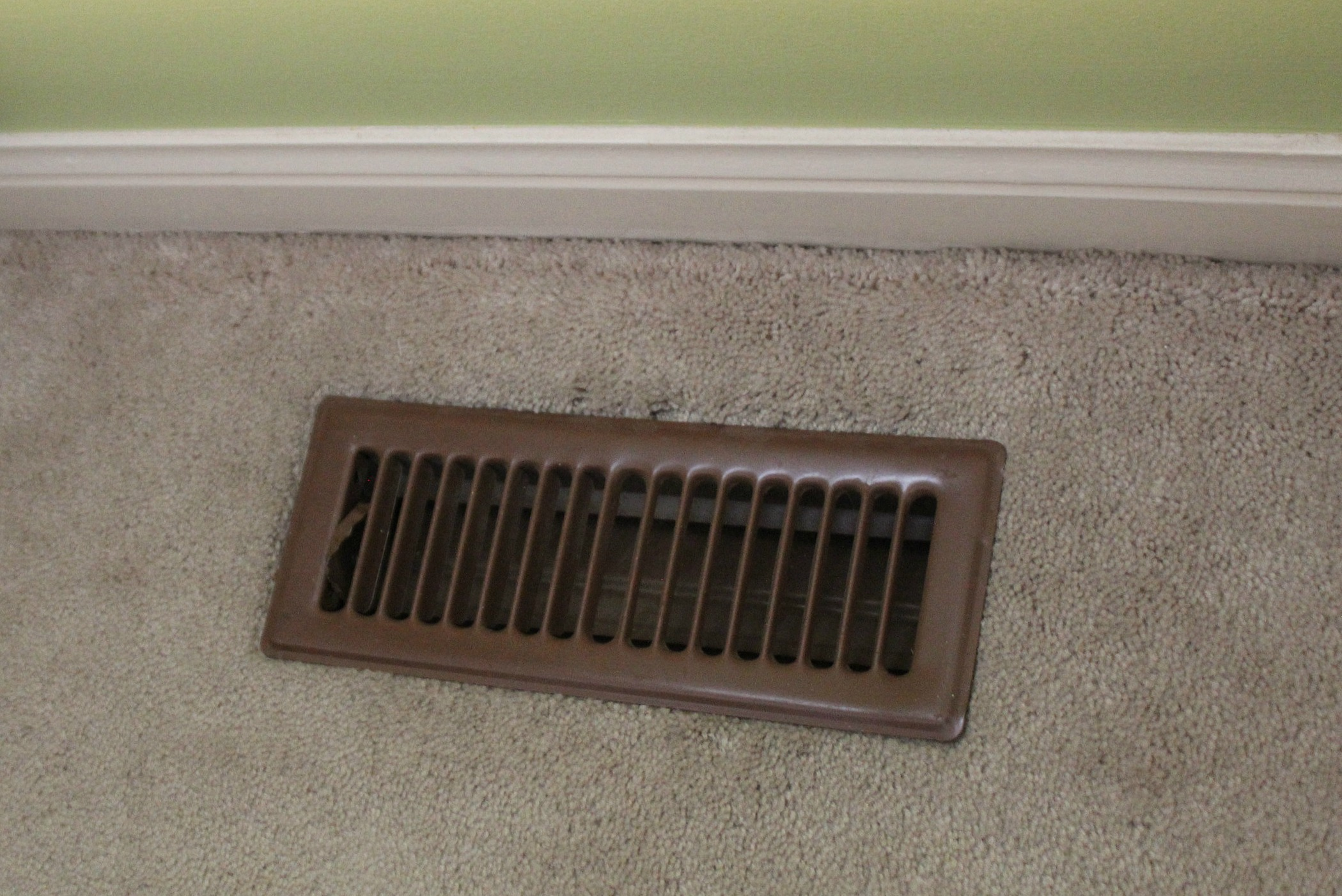 standard floor register cover