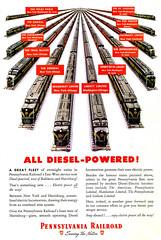 Pennsylvania Railroad Passenger Trains