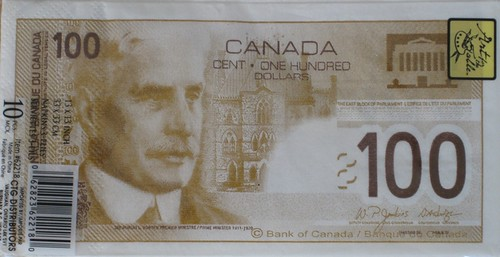 counterfeit Canada 100 dollar note