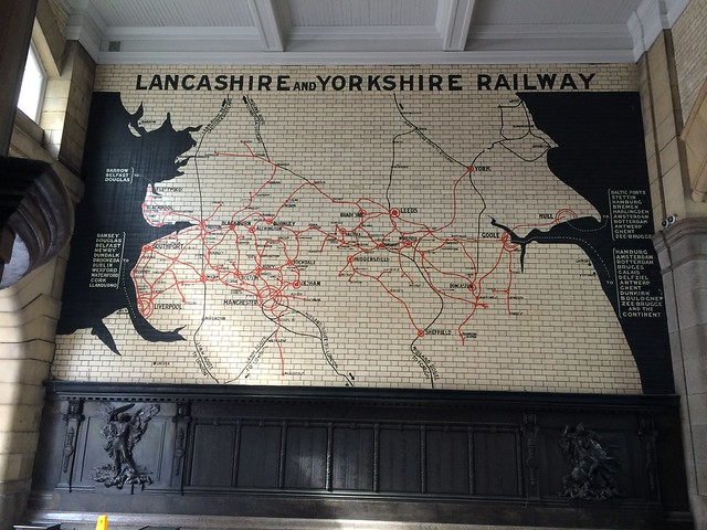 Victoria Train Station tile map