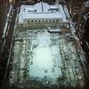 The New York Public Library draped in white.. Snow falling on Manhattan tonight. #null #NYC #manhattan #mynyc #mynewyork #midtown #bryantpark #bundleup #winter #winterinnewyork #snow #snowfall #lookingdown #41floorsabove