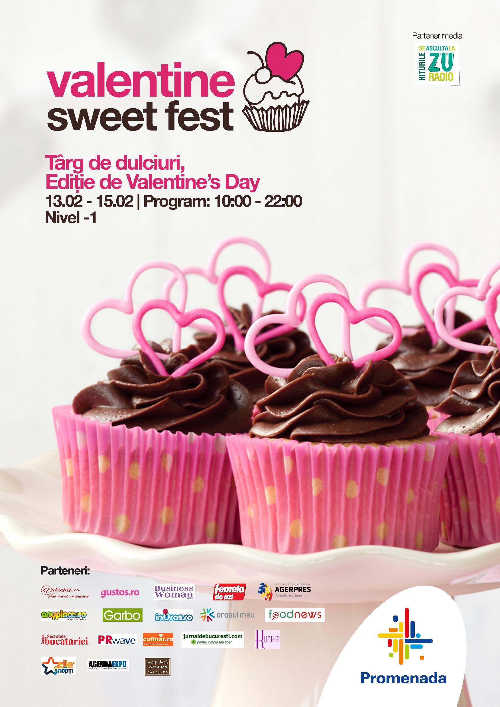Iubire de ciocolată la Valentine Sweet Fest februarie 2015