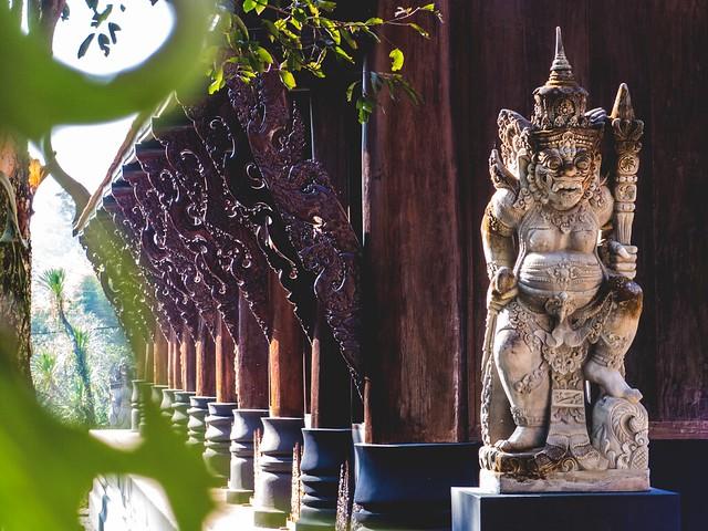 Black House, Chiang Rai, Thailand via TinyBlackBird.com