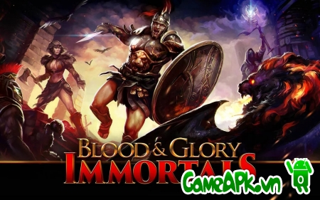 BLOOD & GLORY: IMMORTALS v1.0.0 hack full cho Android
