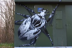 Graffiti EDF - The scarabax