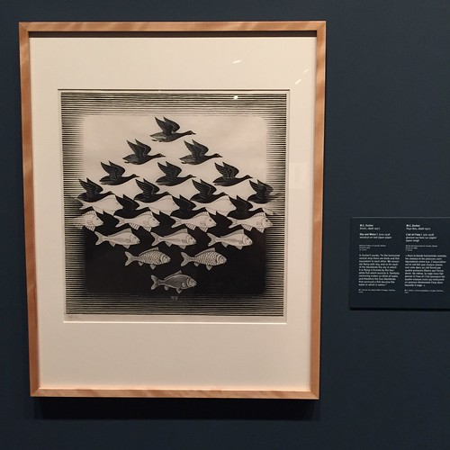 MC Escher exhibition at the National Gallery