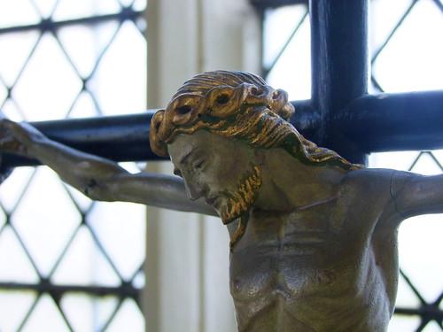 Crucifix by Comper (detail)