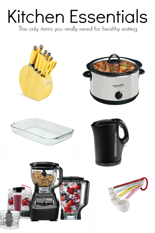 Kitchen Essentials to easily make healthy meals