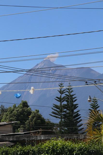 Volcan Fuego.  Antigua, Guatemala.