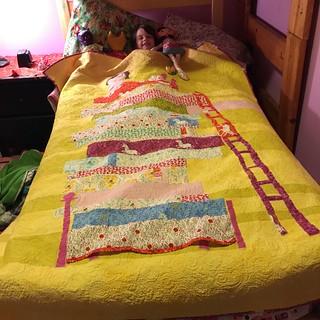 Princess & Pea quilt