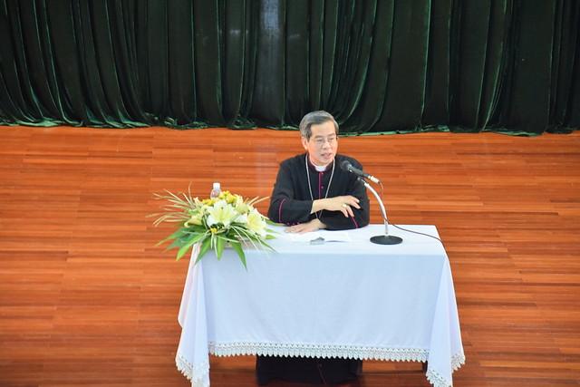 Bài Huấn dụ của Đức cha Giuse Nguyễn Năng trong ngày gặp mặt đầu xuân 2015