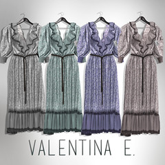 Valentina E. Claire Vintage Gown Pastels At UBER