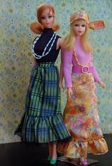 Vintage Talking Barbie and Twist n' Turn Francie