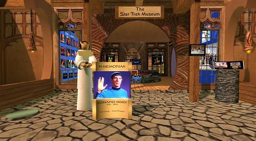 Star Trek Museum Second Life