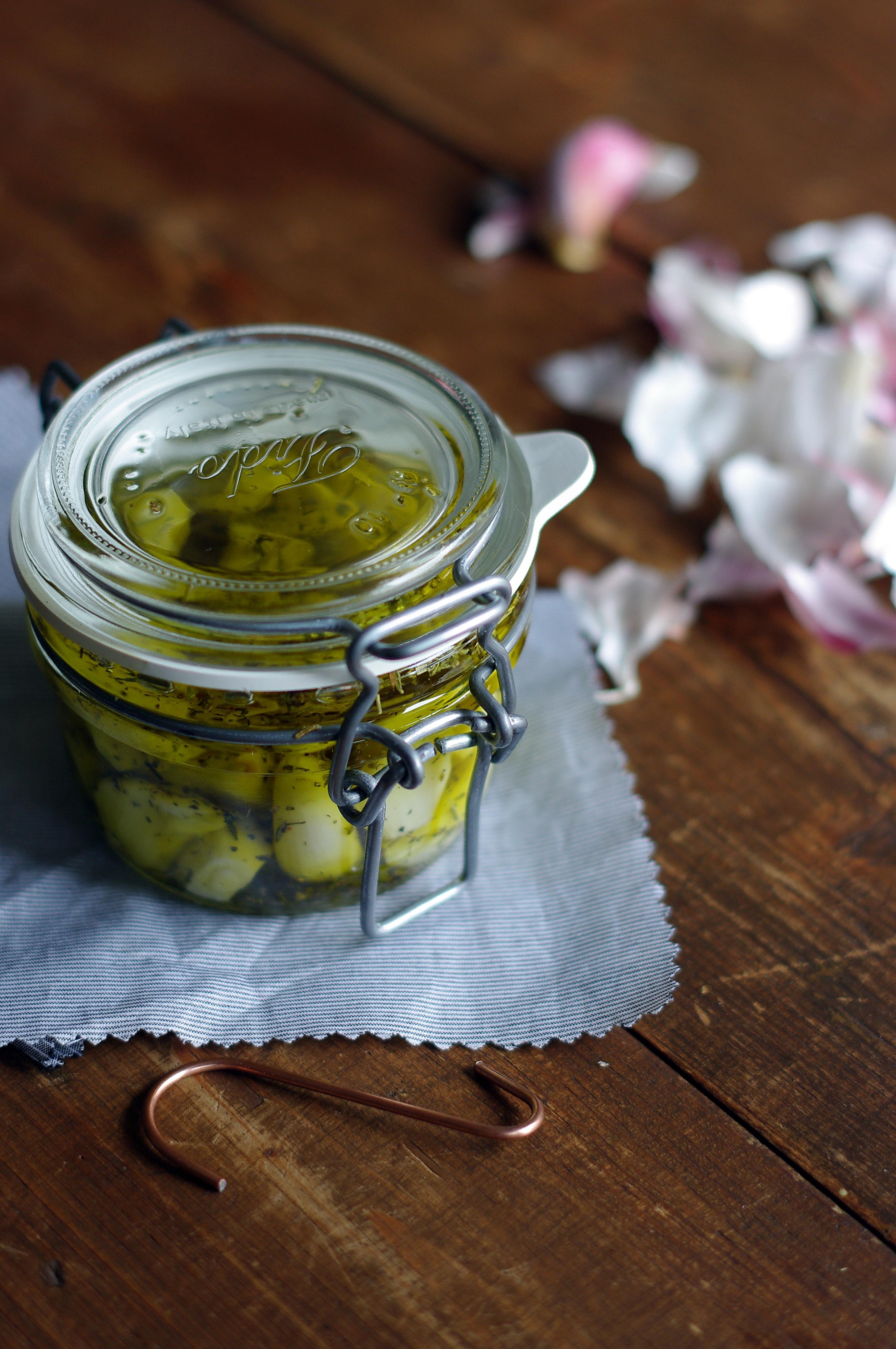 Knoblauch in Olivenöl by Glasgeflüster 3 groß
