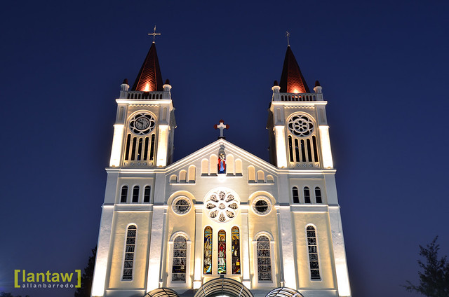 Baguio Cathedral at Dawn