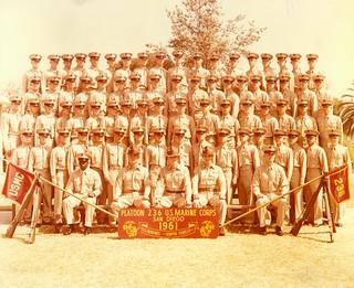 Platoon 236, San Diego, 1961