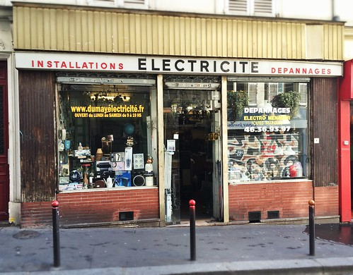 Old Electrical Shop, Paris