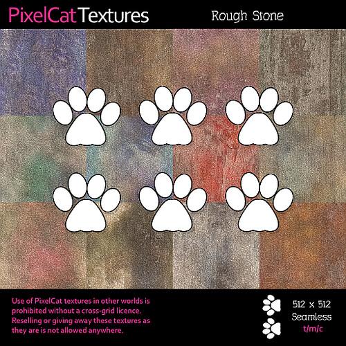 PixelCat Textures - Rough Stone