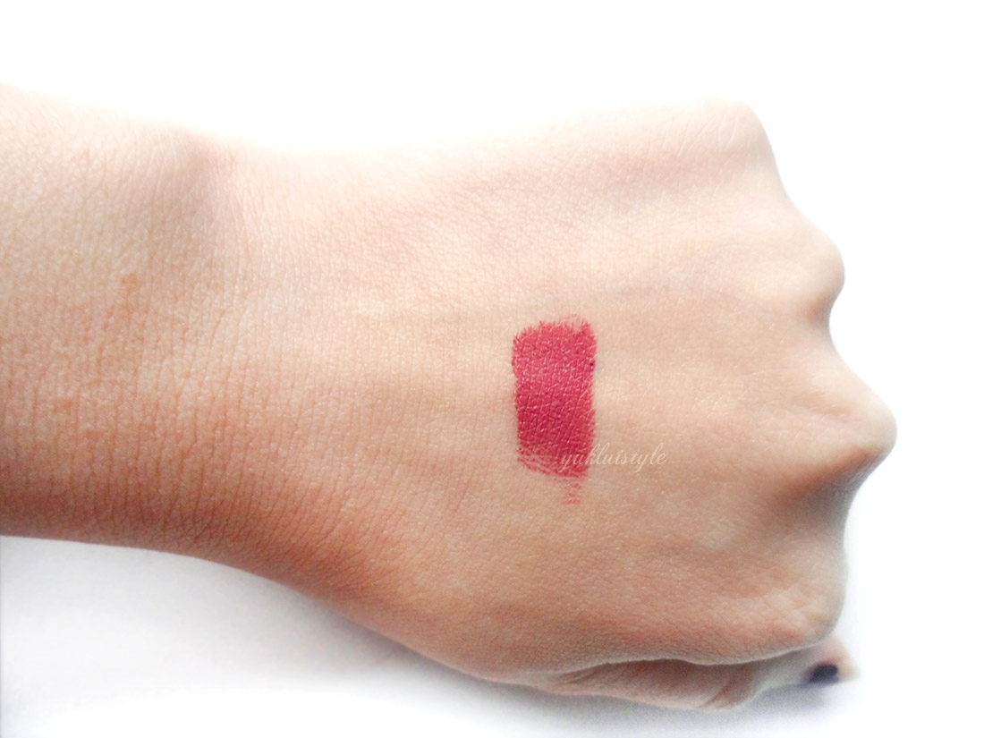 Illamasqua Glamore Lipstick in Minx review and swatch