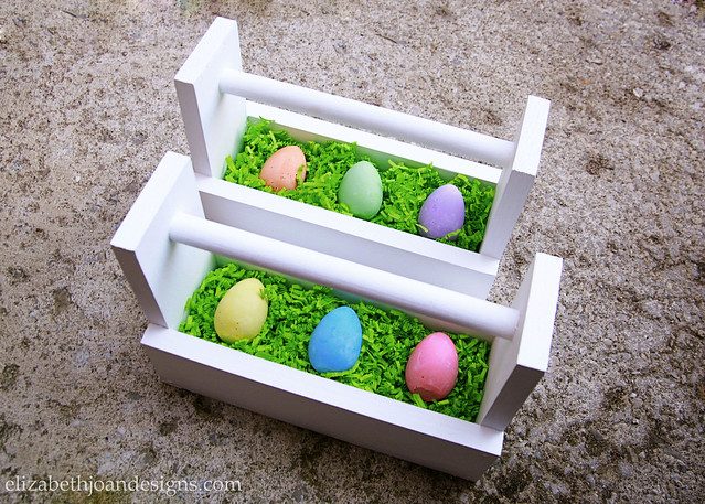 White Easter Egg Caddy