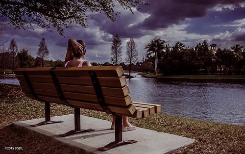 lake bench jane florida odc weeklytheme lakewoodranch thecountryclub benchlife nikond7000 afsnikkor18105mm13556g bgdl lightroom5 flickrlounge