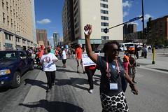Teacher unions march for justice for Philando Castile
