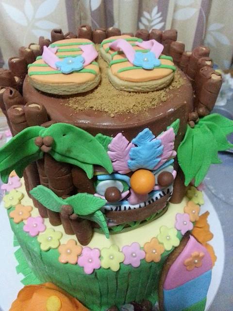 The Tiki Cake by Merle Cabugnason Apuli