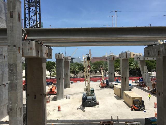 MiamiCentral All Aboard Florida Brightline Station Construction