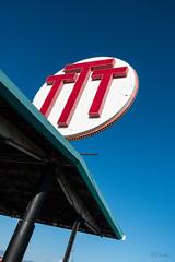 Triple T Truckstop Sign
