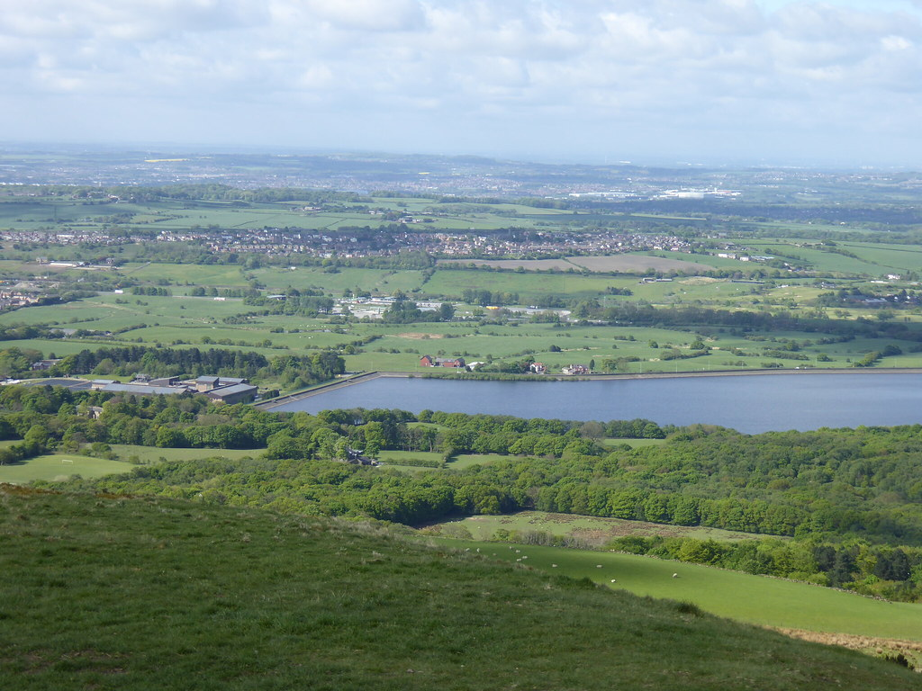 View west from Rivington Pike