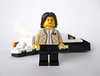 Women of NASA on LEGO Ideas - Sally Ride with space shuttle orbiter