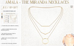 Amala - The Miranda Necklaces for Amala VIP Group