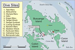 Busuanga (Coron) divesites