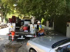 Flood Damages Hollywood Hills Neighborhood near Cahuenga Pass