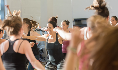 Fitness Class at the Centre for Sport