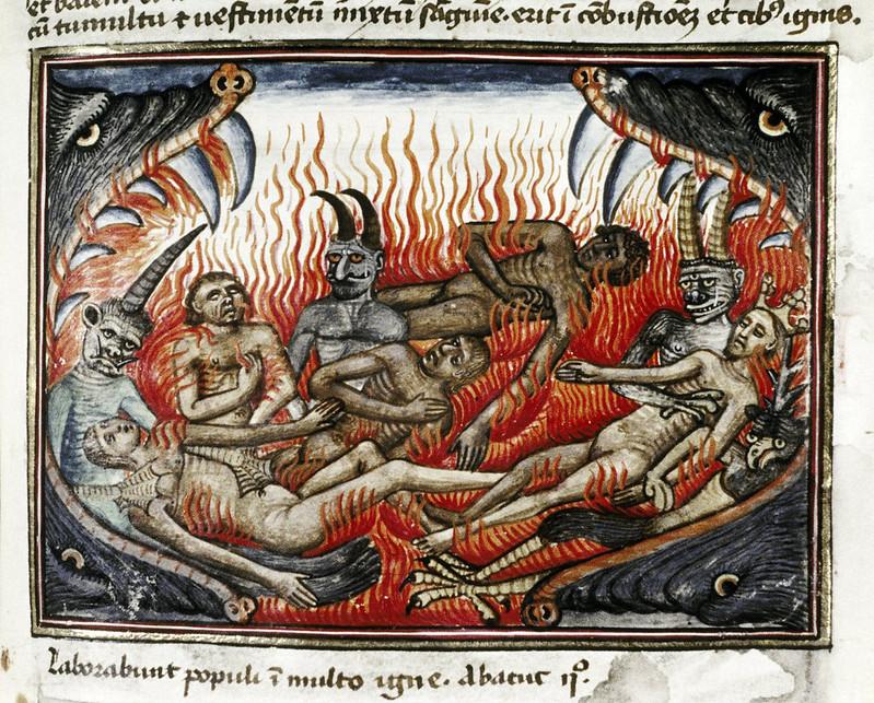 Demons From The Livre de la vigne nostre Seigneur, 1450 - 70 (14)