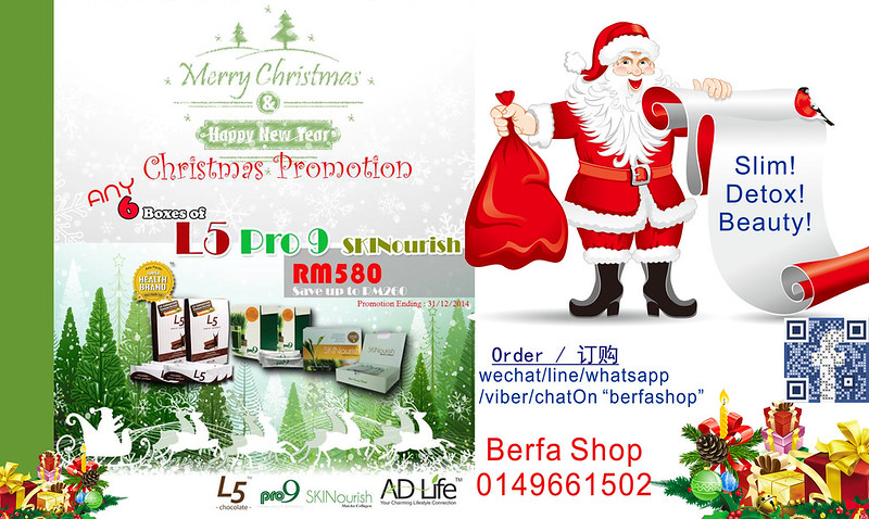 2014 Christmas Promotion Berfa Shop 3 English