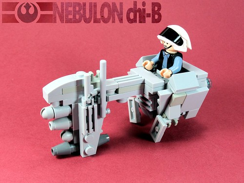 Nebulon chi-B frigate, by Bob De Quatre, on Eurobricks