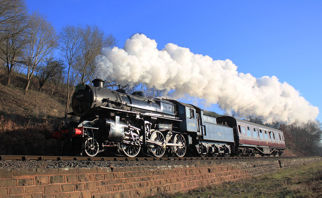 Severn Valley Railway's Flying Pig!