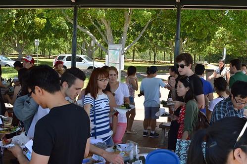 Sydney Food Bloggers Xmas picnic 2014