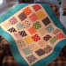 Polka dot baby quilt by sbaker1497