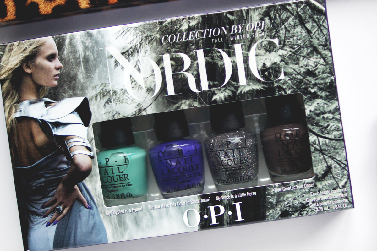 IMATS Toronto makeup beauty haul 2014 Nordic Collection opi mini set