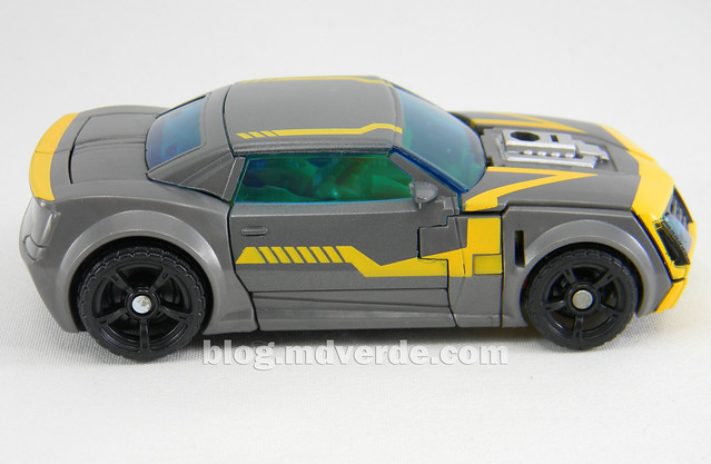 Transformers Shadow Strike Bumblebee Deluxe - Transformers Prime RID - modo alterno