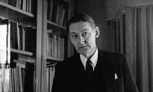 Thomas Stearn, T. S. Eliot (1888-1965) Foto Hulton-Deutsch Collection/ CORBIS