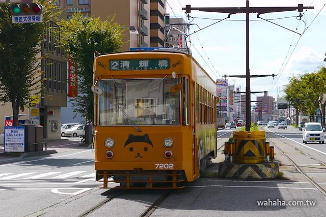 岡山電軌,岡山放送「OH!くん」廣告電車