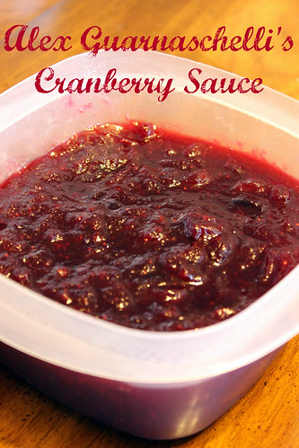 Alex Guarnaschelli's Cranberry Sauce