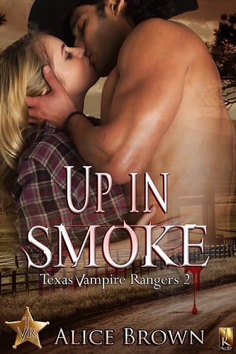 Up in Smoke-Texas Vampire Rangers Book 2
